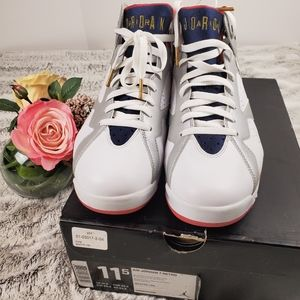 "Men's 2012 Retro Jordan 7 ""Olympic"""